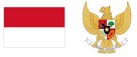 インドネシア国旗 国章
